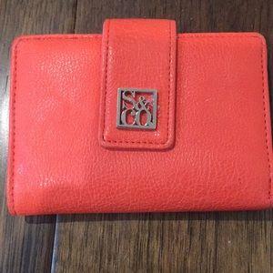 Excellent condition pink & orange walllet
